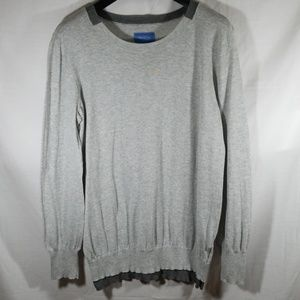 Simply Vera Vera Wang Gray Sweater Size L